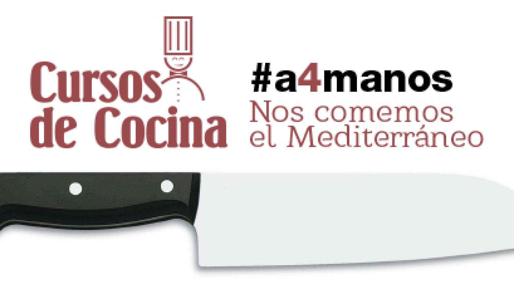 Cursos de cocina #a4manos