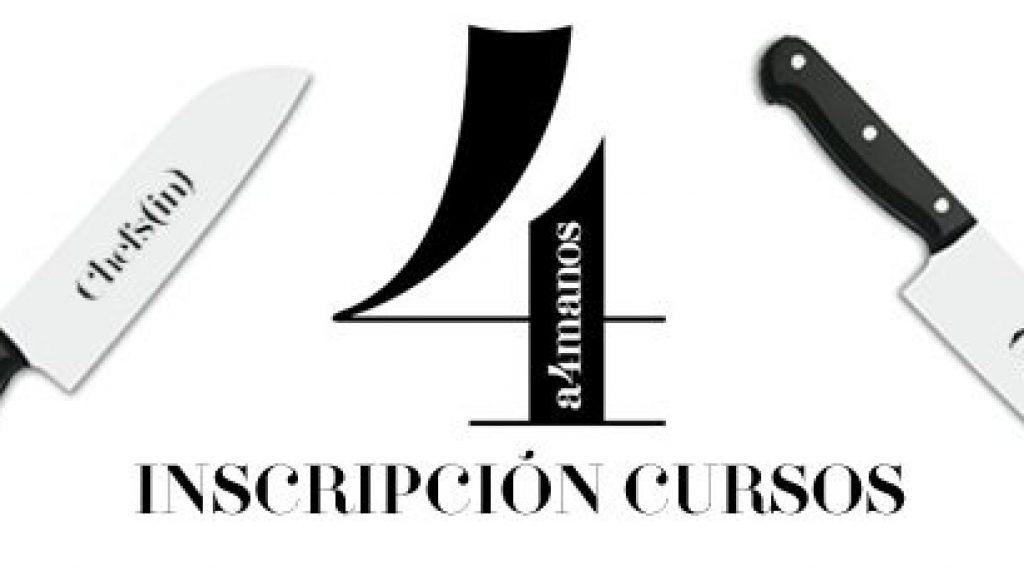 Inscripción cursos #a4manos 2013-2014