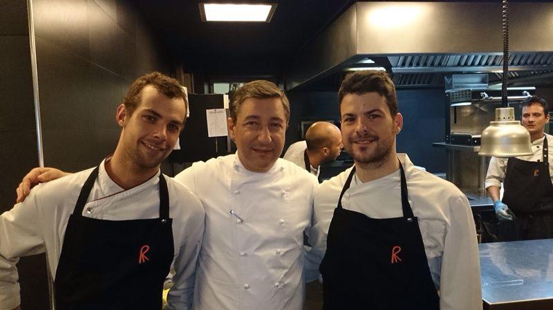 Chefs(in) Andreu Benítez