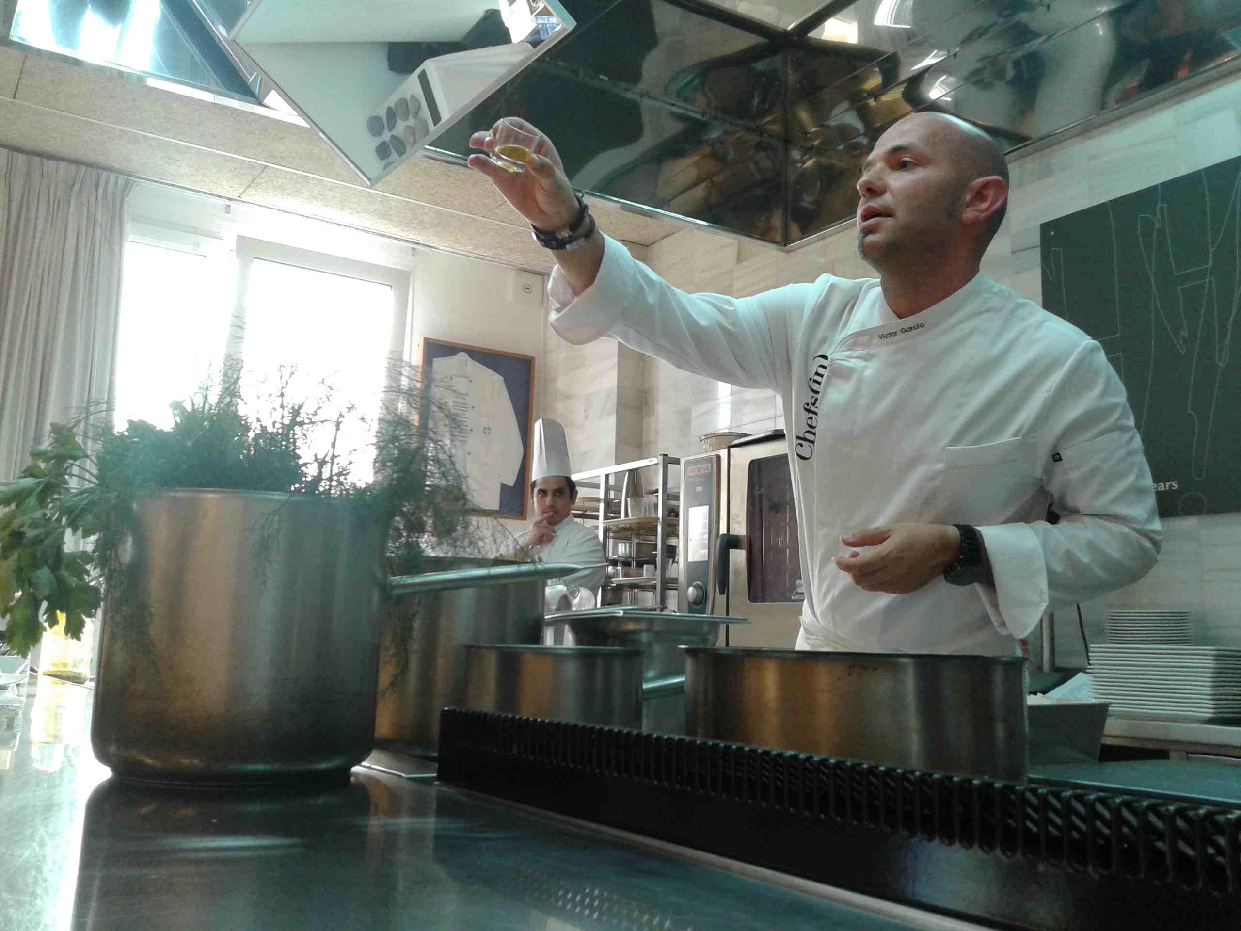 Chefs(in) & EHIB Víctor García