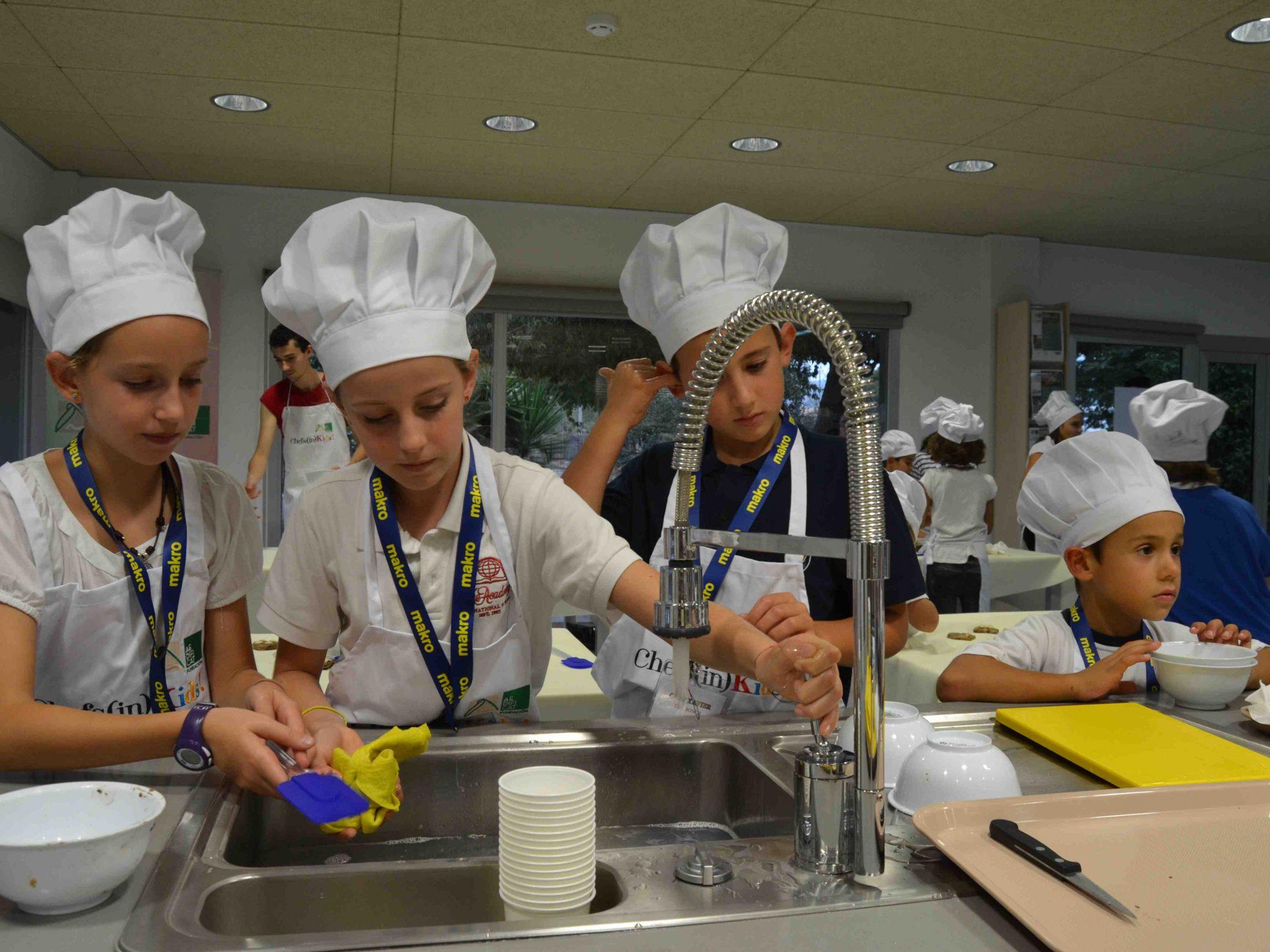 Els nins de Chefs(in)Kids!