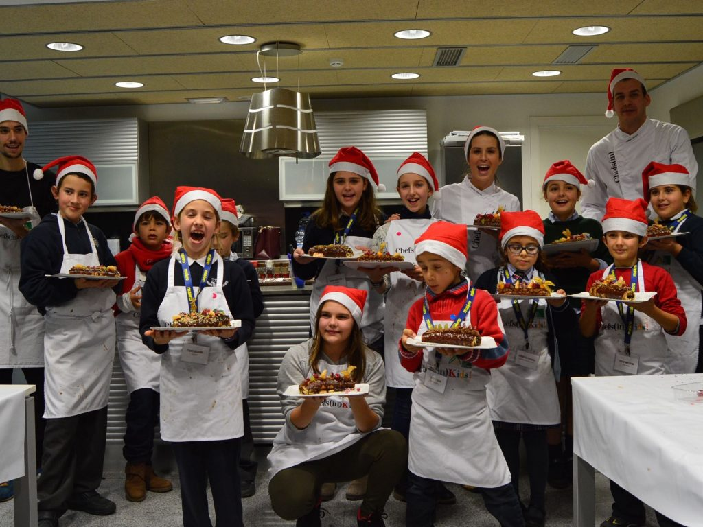 Navidad en Chefs(in)Kids! con William Tétard
