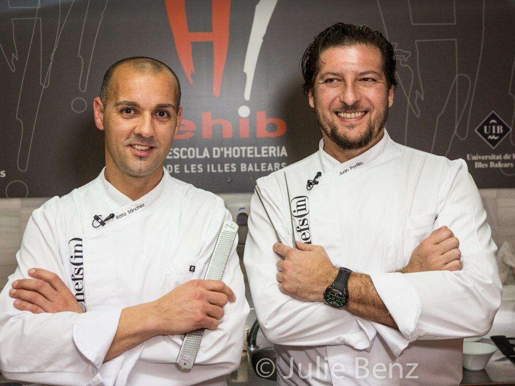 El desayuno de Rafa Sánchez y Juan Portillo