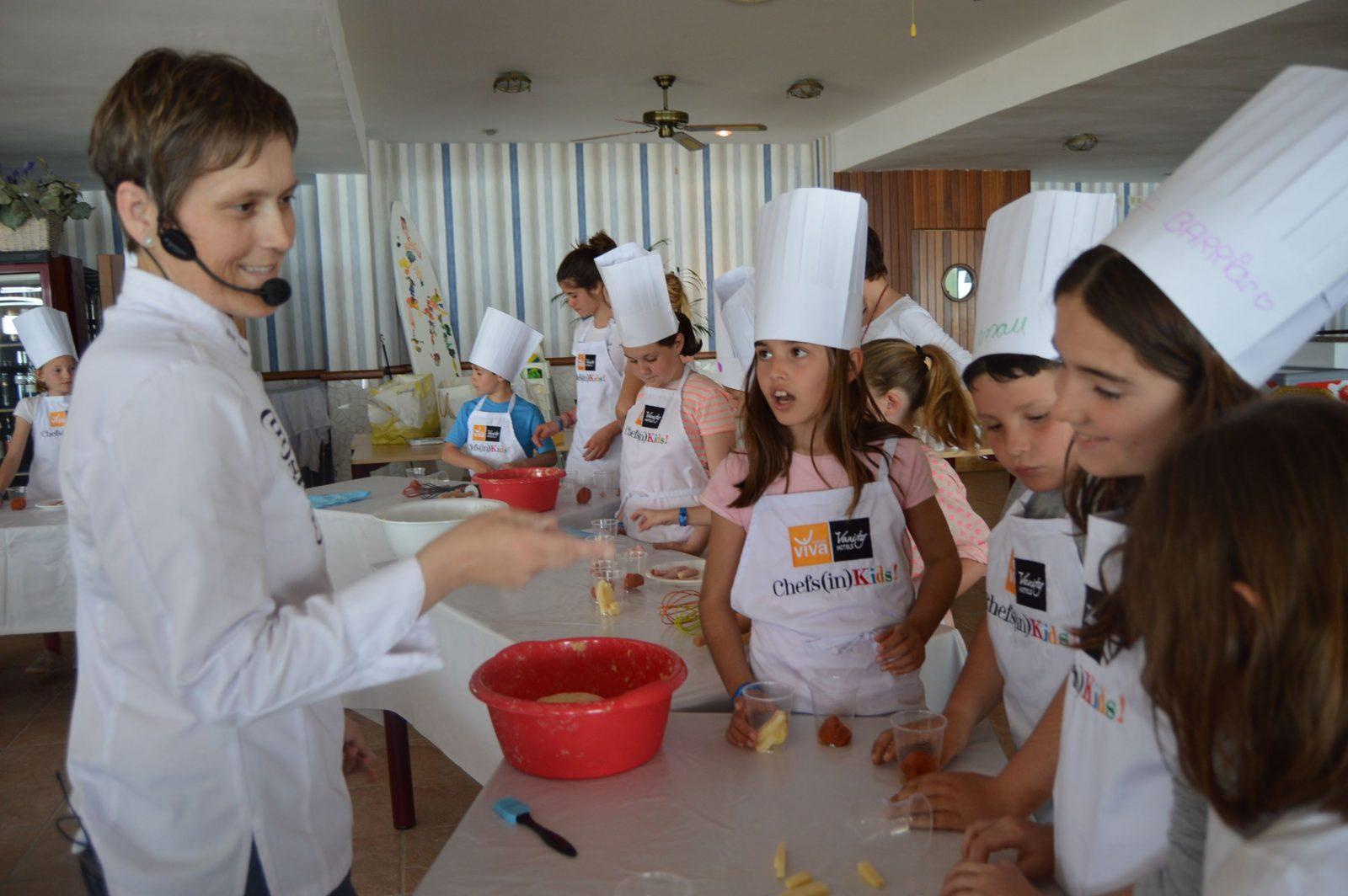Cocina para ni os en menorca chefs in - Cocina sana para ninos ...