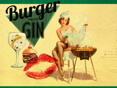 Burger Meets Gin con Silvia Anglada en ODPortals