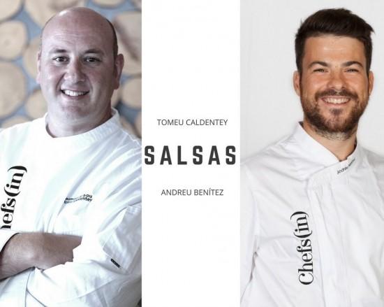 """8º curso: """"Salsas"""" por Tomeu Caldentey y Andrés Benítez"""