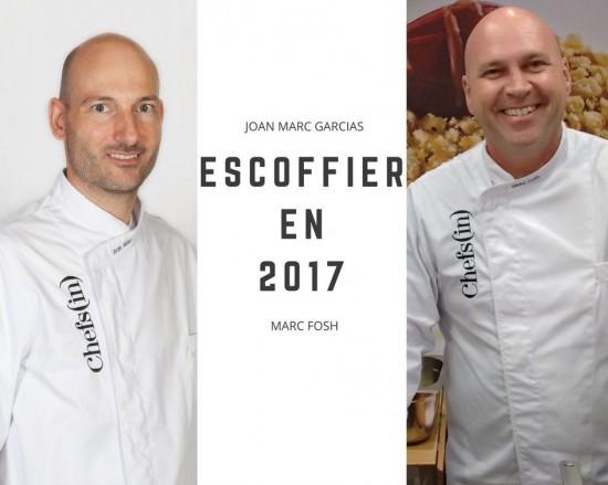 """4º curso: """"Escoffier en 2017"""" por Marc Fosh y Joan Marc Garcías"""