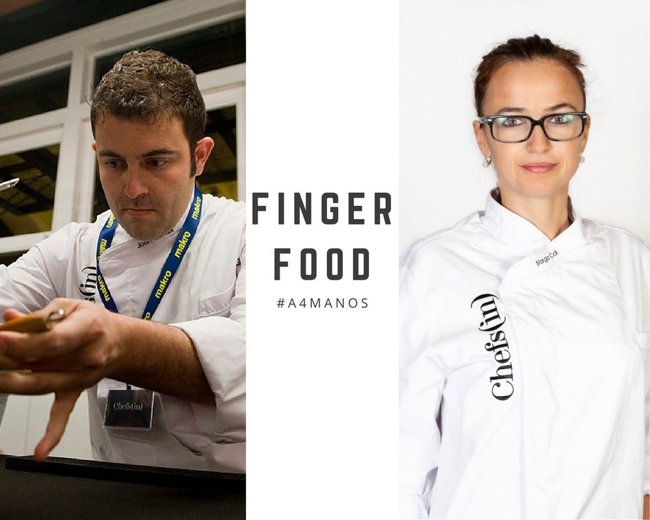 """Cursos #a4manos 2016/2017 - 3r curso: """"Fingerfood"""", por Marga Coll y Joan Canals @ Escola d'Hoteleria de les Illes Balears   Palma   Illes Balears   España"""