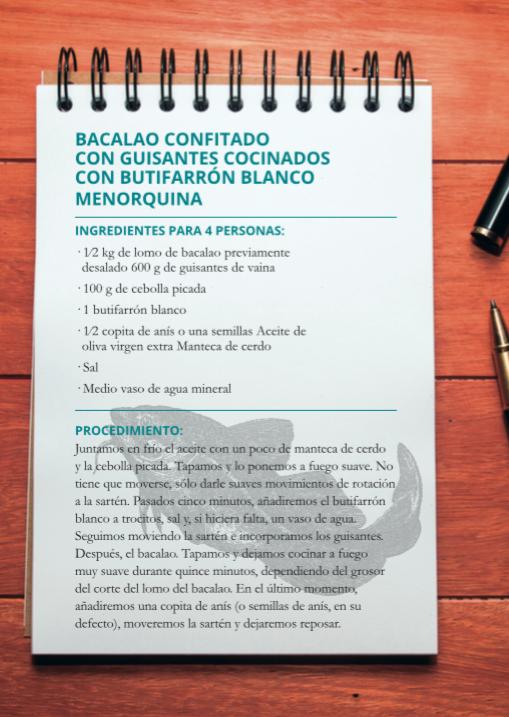 Receta de Sílvia Anglada en el showcooking de Baleària