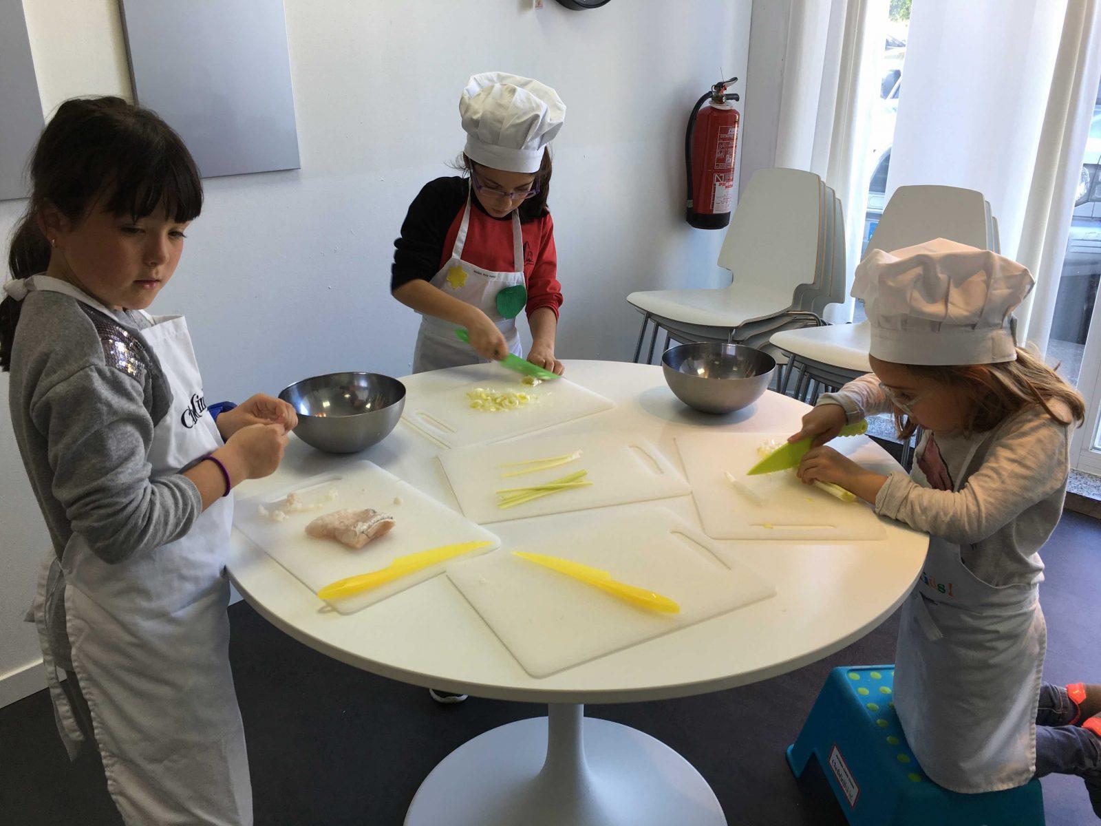 Chefs In Kids Cursos De Cocina Para Ninos Chefs In