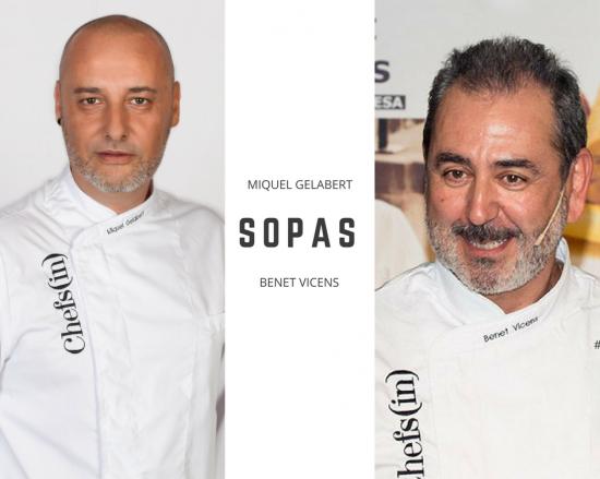 """1er curso: """"Sopas"""" por Benet Vicens y Miquel Gelabert"""