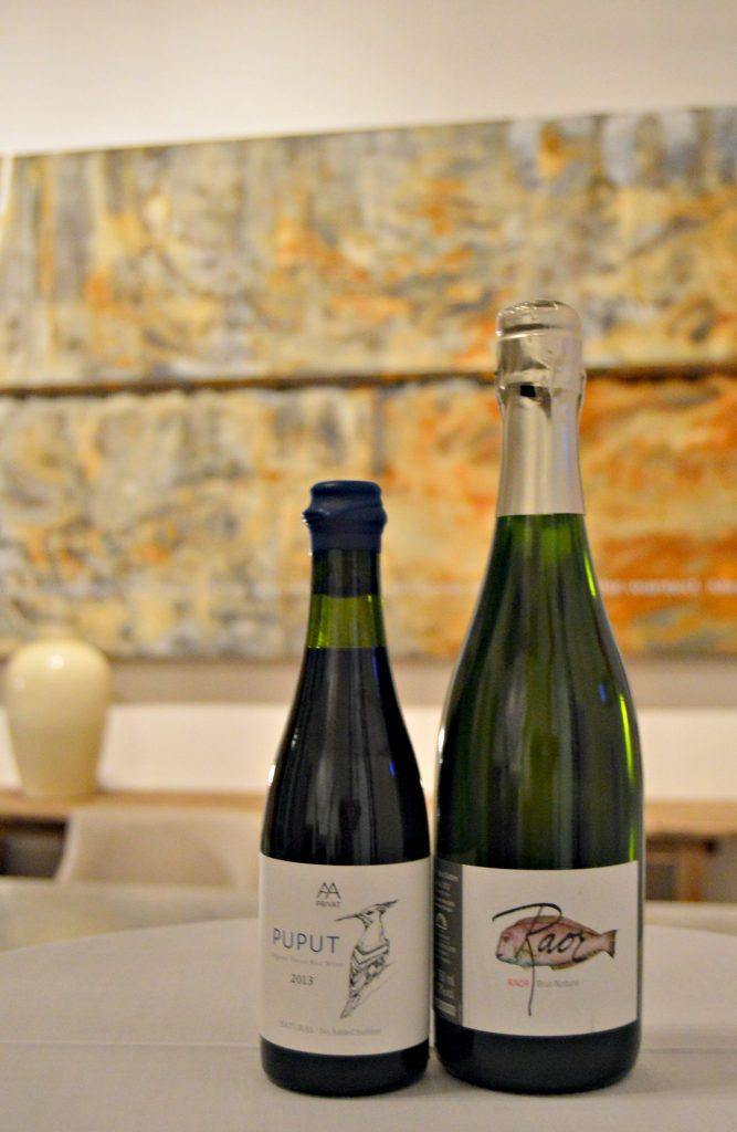 Raor Brut Nature 2012 y AA Puput 2013, la selección de vinos de Vinamica para maridar aperitivo y postre