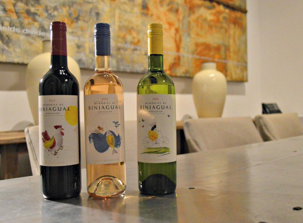 Bodega Biniagual maridó los platos principales con su gama Memòries de Biniagual