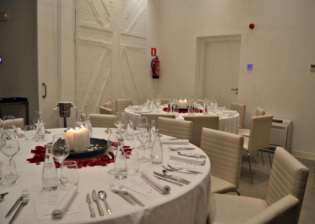 Comedor del Puro Hotel de Palma donde se realizó el Hidden Kitchen