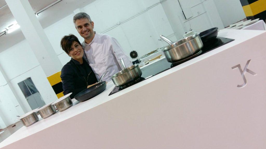 Miquel Sánchez y Vianey Ángeles, chef y jefa de sala de Smoix