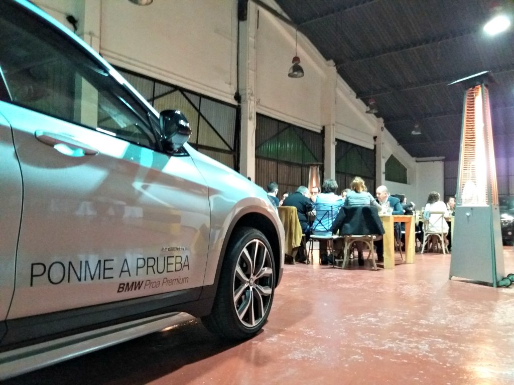 BMW en el Hidden Kitchen con Miquel Sánchez