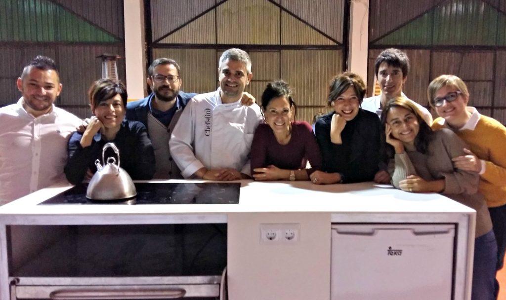 El equipo del Hidden Kitchen al completo