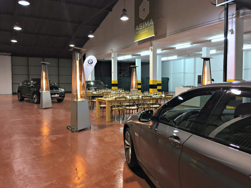 BMW en el Hidden Kitchen