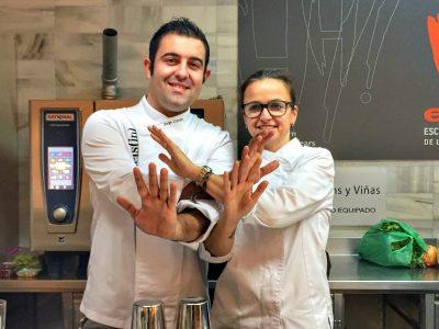 Un curso de cocina para chuparse los dedos