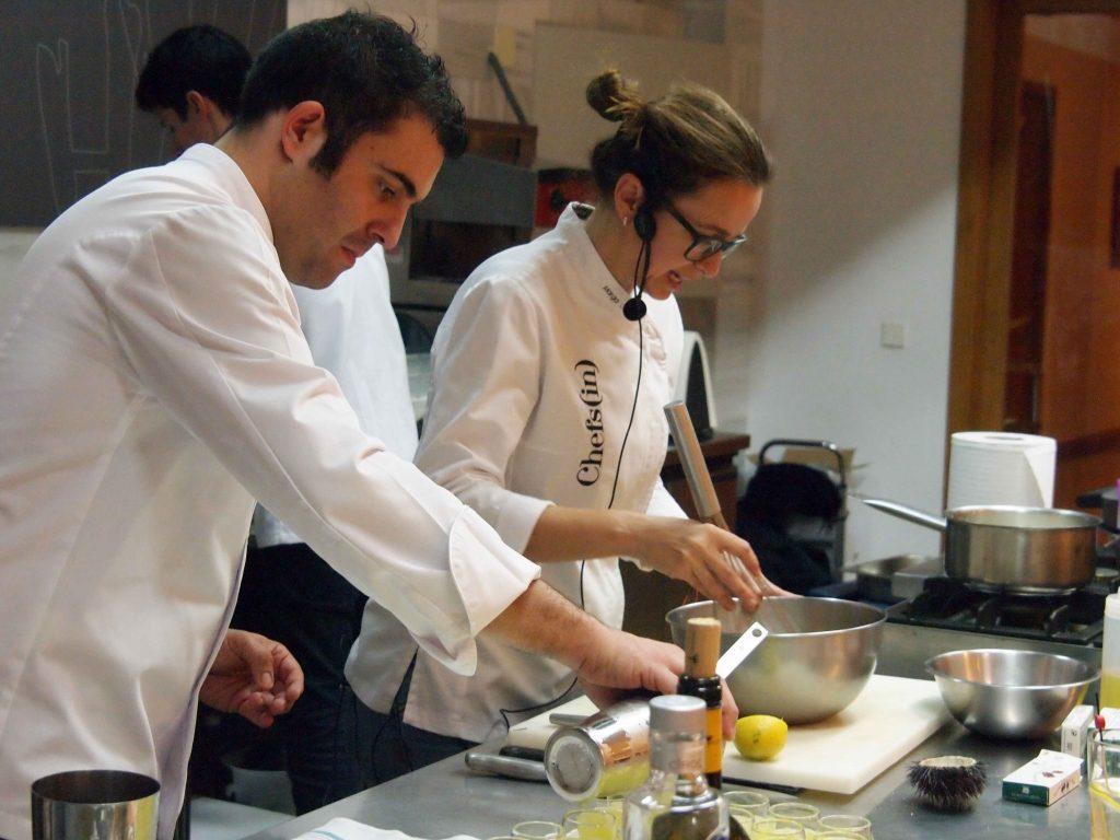 Curso de cocina #a4manos Fingerfood - Marga Coll y Joan Canals