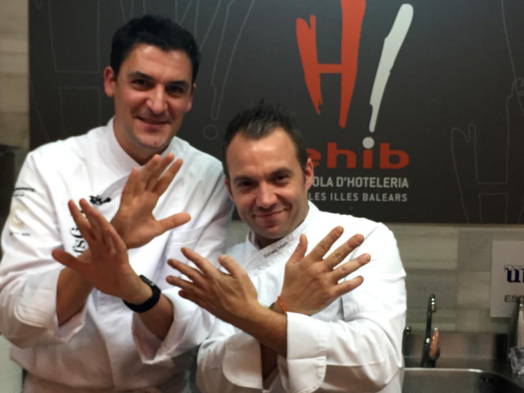 Martí y Molina cocinan #a4manos