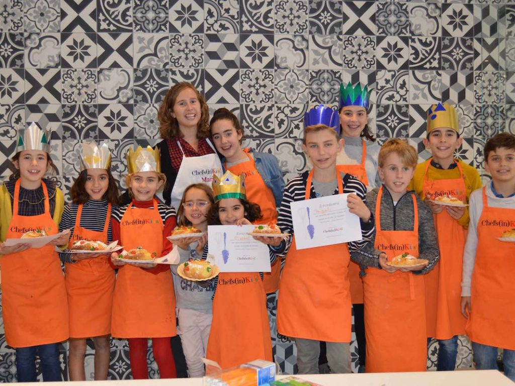 Los Chefs(in)Kids se divierten en Navidad
