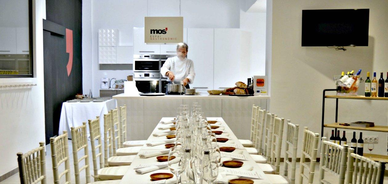 Hidden Kitchen con Benet Vicens en Mos Espai Gastronòmic