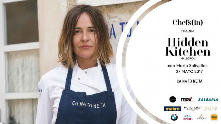 Hidden Kitchen con Maria Solivellas