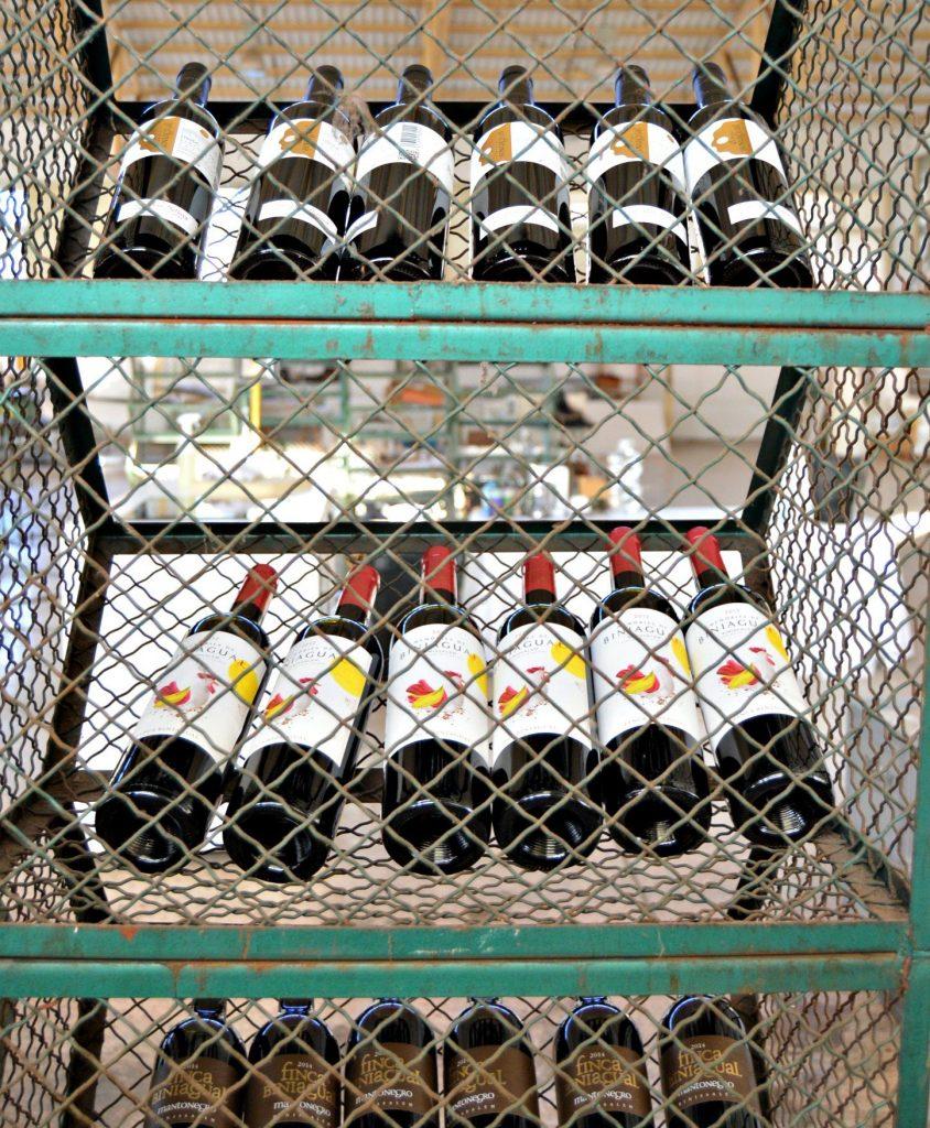 Los vinos de Bodega Biniagual