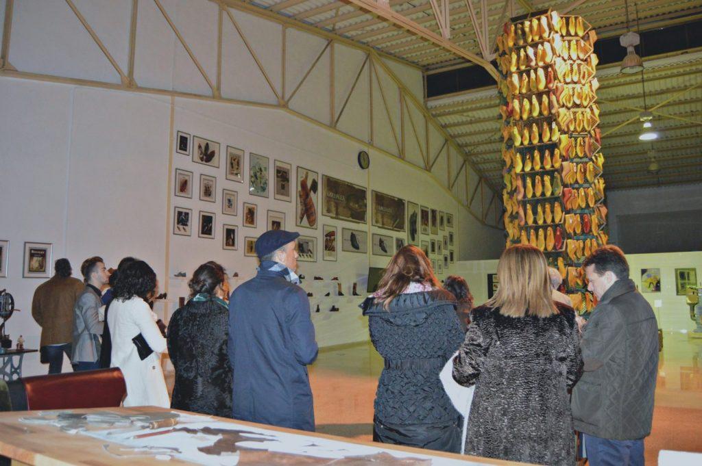 Los comensales visitaron el Museu del Calçat de Selva - Kollflex