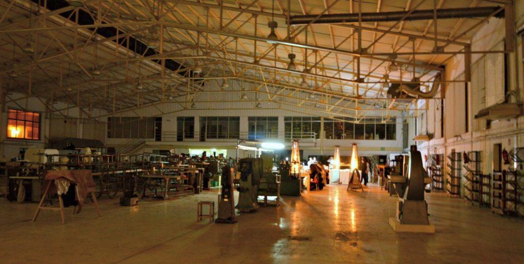 Vista general del lugar del evento