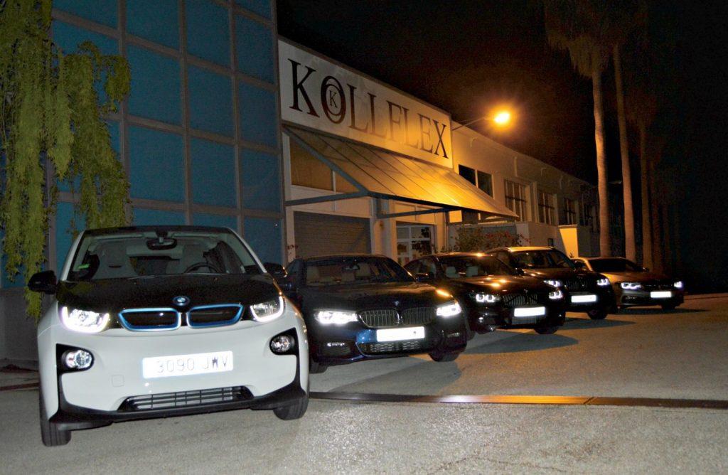 BMW Proa Premium se encargó de los traslados de los comensales
