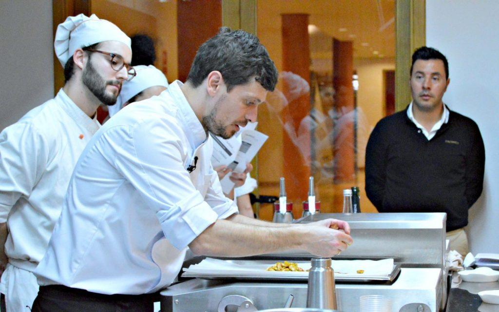 Íñigo Rodríguez, chef del Hotel Pacha