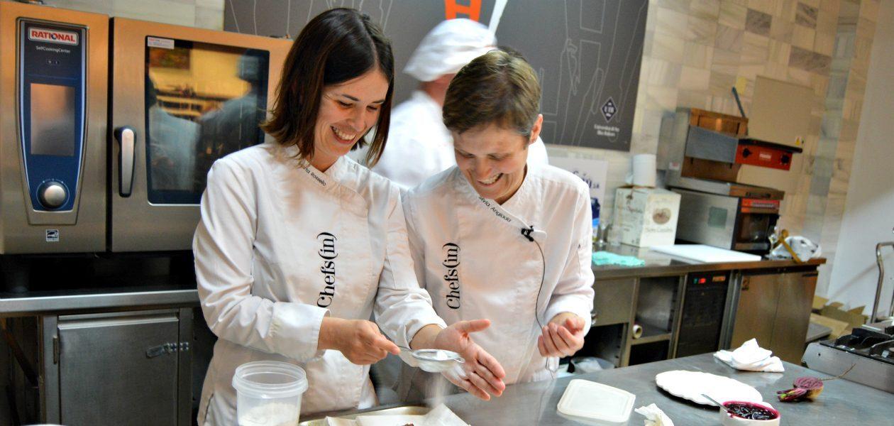 Marta Rosselló y Sílvia Anglada cocinan pescado a4manos