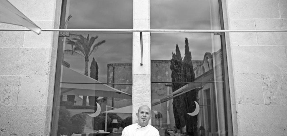 Víctor García, chef del hotel Cap Rocat