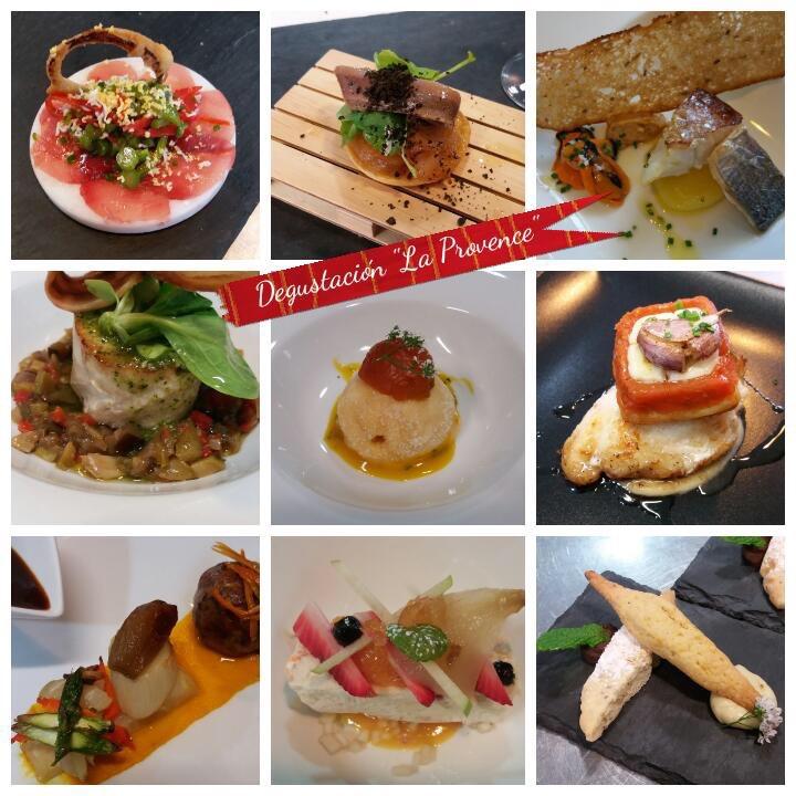 El menu Provence de Patrick James en Pan y Vino (Menorca)