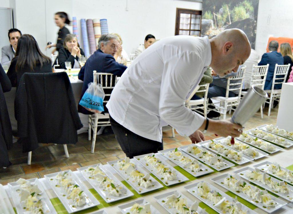 Hidden Kitchen con Víctor García (La Fortaleza de Cap Rocat Hotel) en Teixits Vicens