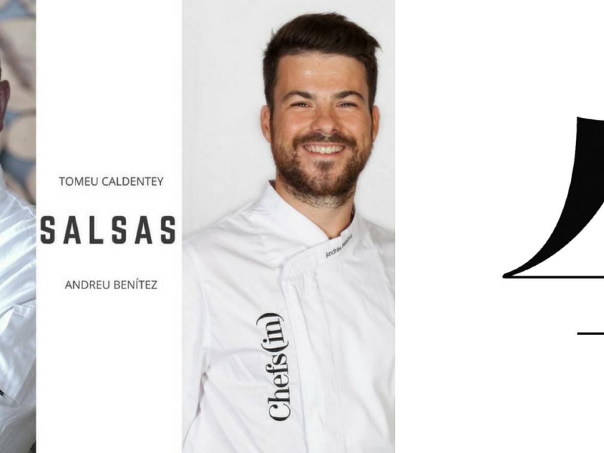 Curso de salsas con Andrés Benítez y Tomeu Caldentey