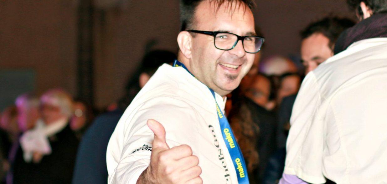 El chef Patrick James en el Peccata Minuta del Palau March