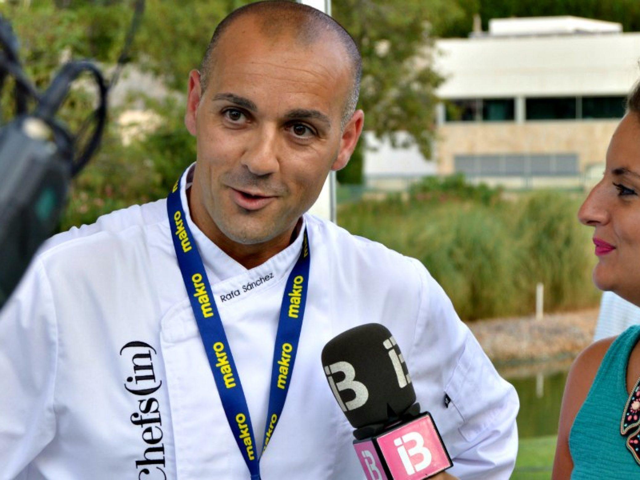 Rafa Sánchez, new executive chef at PortBlue Hotels & Resorts