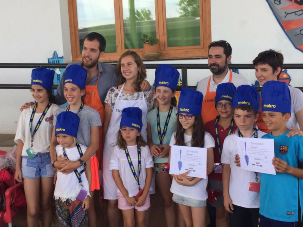 Fin de curso Chefs(in)Kids! 2016-2017