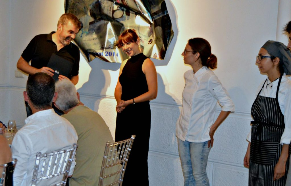 Hidden Kitchen con Caterina Pieras en Gerhardt Braun Gallery
