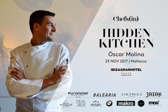 Hidden Kitchen - Óscar Molina - 25 de noviembre de 2017