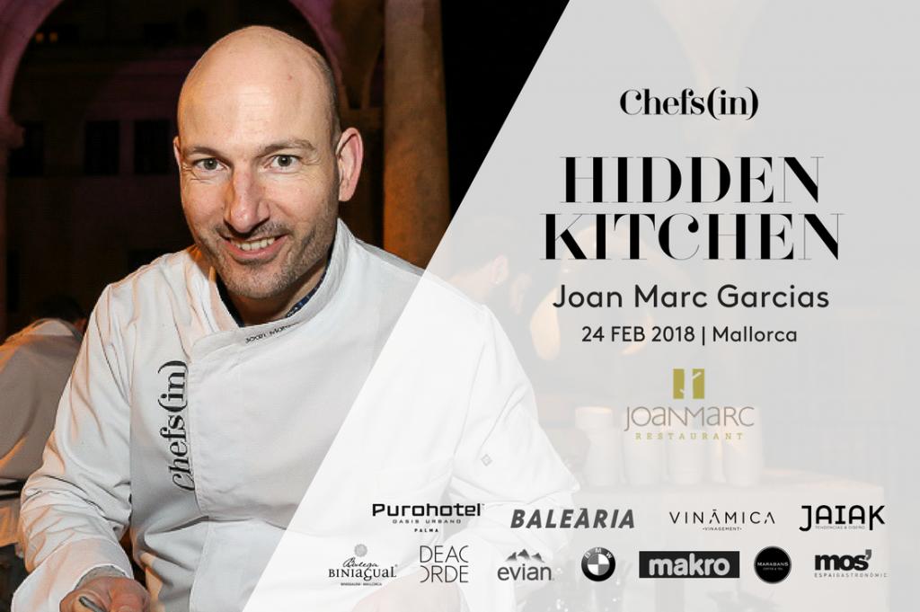 02 Hidden Kitchen by Chefsin - Joan Marc Garcies - 24 de febrero de 2018 - Mallorca