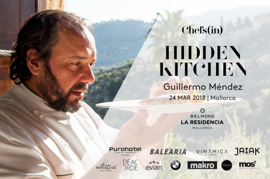 Hidden Kitchen - Guillermo Méndez - 24 marzo 2018