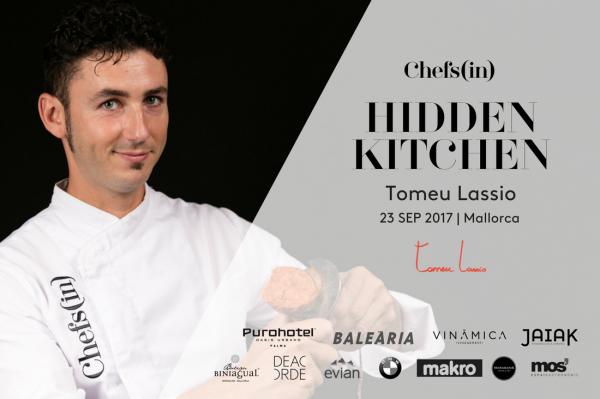 09 Hidden Kitchen by Chefsin - Tomeu Lassio - 23 de septiembre de 2017 - Mallorca