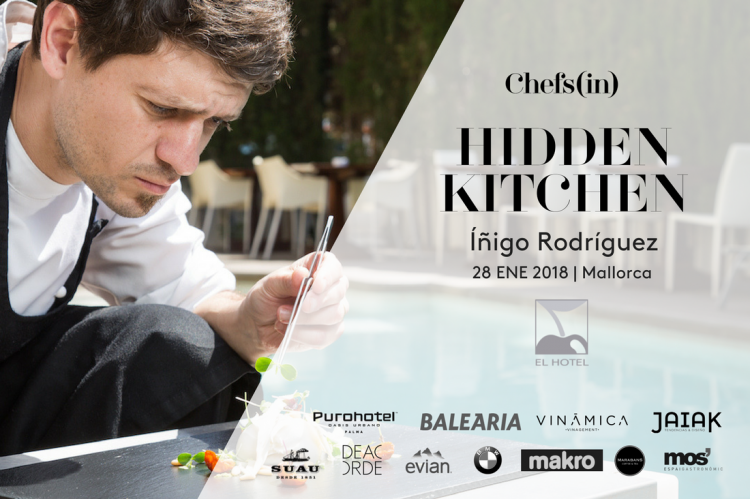 01 Hidden Kitchen by Chefsin - Inigo Rodriguez - 28 de enero de 2018 - Mallorca