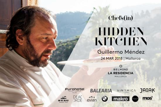 Hidden Kitchen - Guillermo Méndez - 24 marzo 2018