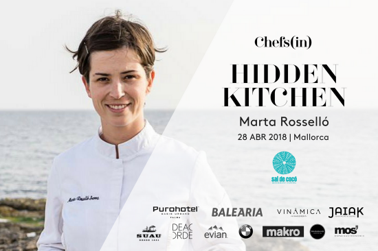 Hidden Kitchen - Marta Rosselló - April, 28th 2018