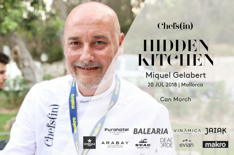Hidden Kitchen by Chefsin - Miquel Gelabert - 20 de julio de 2018 - Mallorca